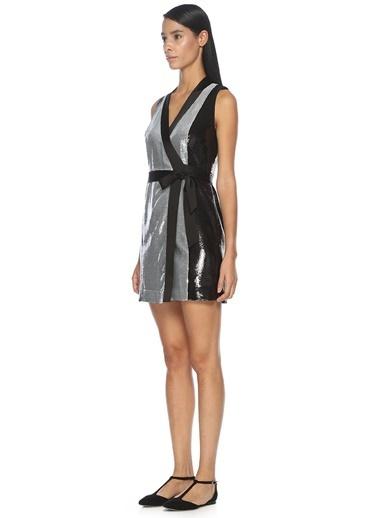 Diane Von Furstenberg Elbise Gümüş